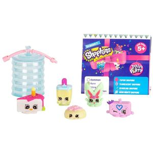 FIGURINE - PERSONNAGE SHOPKINS PARTY Blister 5 pack (5 Shopkins Exclusif
