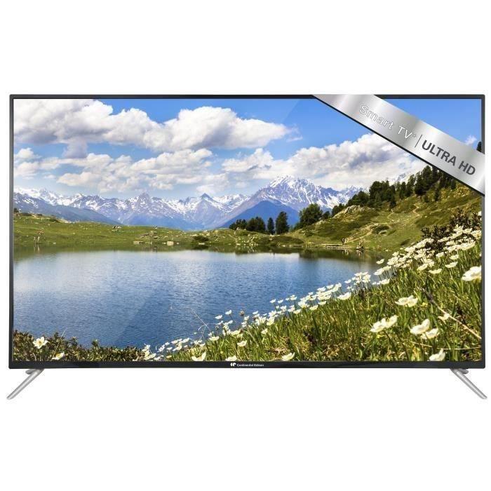 Téléviseur LED CONTINENTAL EDISON TV 4K UHD 191 cm (75'') - Smart