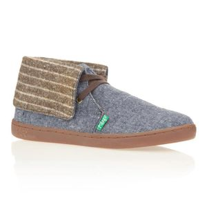 BASKET KEEP Baskets Montantes Nuss Chambray - Homme - Ble
