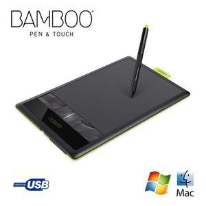 TABLETTE GRAPHIQUE Wacom tablette graphique Bamboo Pen & Touch