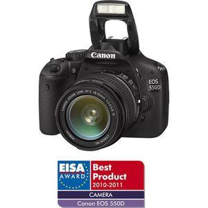 APPAREIL PHOTO RÉFLEX CANON EOS 500D + EF-S 18/55mm IS