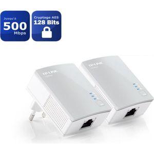 COURANT PORTEUR - CPL TP-Link TL-PA4010 KIT kit de 2 CPL 600 Mbps avec 1