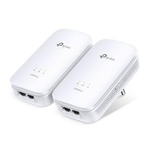 COURANT PORTEUR - CPL TP-LINK Pack de 2 Adaptateurs CPL -PA9020 avec 2 p