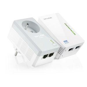 COURANT PORTEUR - CPL TP-Link TL-WPA4225 KIT kit de 2 CPL 600 Mbps Wi-Fi