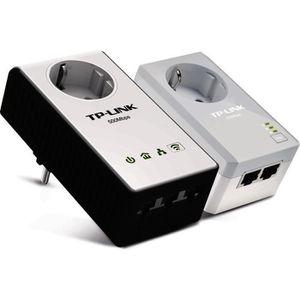 COURANT PORTEUR - CPL TP-LINK CPL WiFi N300 avec prise TL-WPA4230PKIT