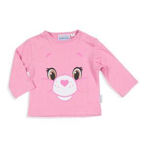 3a6f7b85298c3 PYJAMA BISOUNOURS - T-Shirt de Pyjama Rose Manches Longue ...