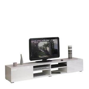 meuble tv laqu achat vente meuble tv laqu pas cher black friday le 24 11 cdiscount. Black Bedroom Furniture Sets. Home Design Ideas