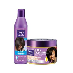 SHAMPOING Dark & Lovely : Routine classique nutrition