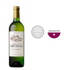 VIN BLANC Château Cruzeau Pessac 2009 Léognan - Vin blanc de