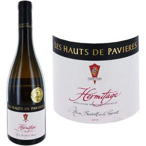 VIN BLANC Les Hauts de Pavières 2011 Hermitage - Vin blanc d