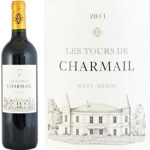 VIN ROUGE Les Tours de Charmail 2011 Haut-Médoc - Vin rouge