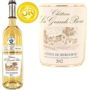 VIN BLANC Cht La Grande Borie 2012 Bergerac Moelleux