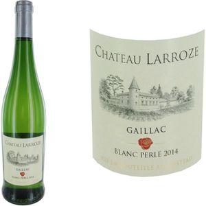 VIN BLANC Château Larroze 2014 Gaillac vin blanc sec perlé