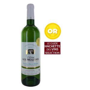 VIN BLANC Château Les Moutins Entre 2 Mers Bordeaux 2015 - V