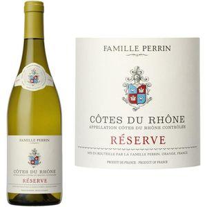 VIN BLANC Famille Perrin réserve Côtes du Rhône 2016 - Vi...