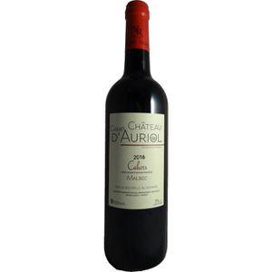 VIN ROUGE Château Champ d'Auriol 2016 Cahors - Vin rouge