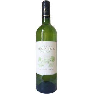 VIN BLANC Domaine d'Escausses 2016 Gaillac -Vin blanc du Sud