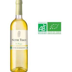 VIN BLANC Notre Trace 2016 Côtes de Bergerac - Vin blanc de