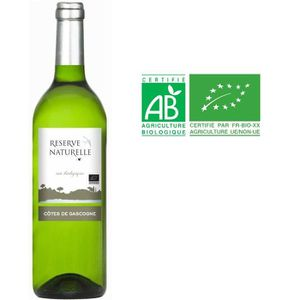 VIN BLANC Réserve Naturelle 2016 - Vin blanc des Côtes de Ga