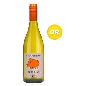 VIN BLANC Petit cochonnet 2017 Chardonnay - Vin blanc du Lan