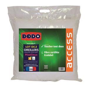Oreiller achat vente pas cher soldes d s le 27 juin cdiscount - Couette dodo hollofil eco 2 ...