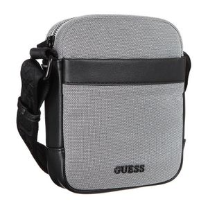 SACOCHE GUESS - Sacoche - Gris - Homme