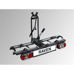 PORTE-VELO Porte-vélos attelage pliable 2 vélos  Eufab Raven