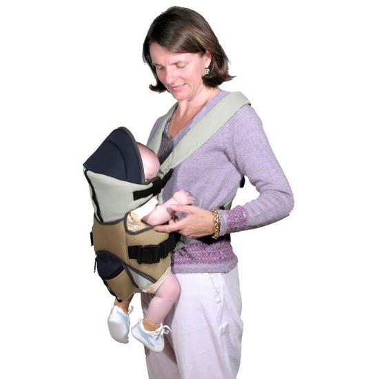 BAMBISOL Porte bébé ventral réversible - Achat   Vente porte bébé  3159059047409 - Cdiscount 57c43d08d91