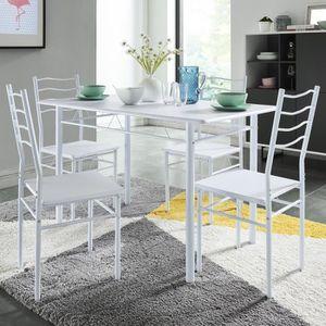 Ensemble table et chaises de cuisine achat vente for Table 6 chaises pas cher