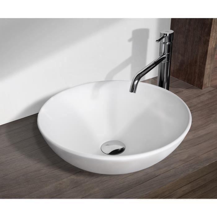 mitola lavabo rond cancun 40x40 cm blanc brillant Résultat Supérieur 15 Unique Salle De Bain Evier Photographie 2018 Gst3