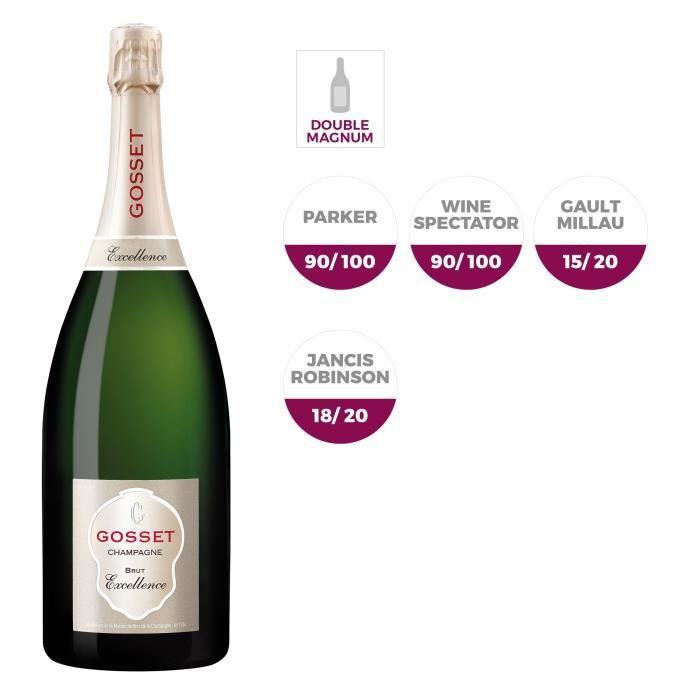 CHAMPAGNE Champagne Gosset Brut Excellence Double Magnum
