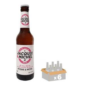 BIÈRE Jacquie & Michel Bière Blonde 0,33 L x 6