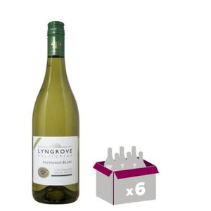 VIN BLANC LYNGROVE Collection Sauvignon Vin d'Afrique du Sud
