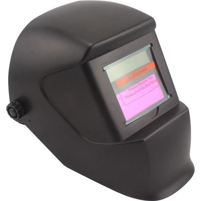 MASQUE DE SOUDURE DOMAC Cagoule de soudure LCD DIN-11