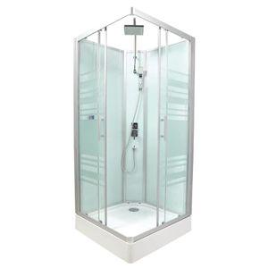 cabine douche integrale achat vente cabine douche integrale pas cher soldes d s le 10. Black Bedroom Furniture Sets. Home Design Ideas