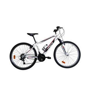 VTT MGR Vélo VTT Groove - Homme - Blanc et rouge