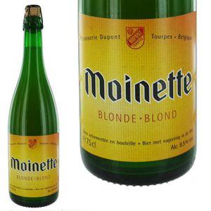 BIÈRE Moinette Blonde 75cl 8.5°