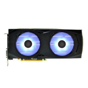 CARTE GRAPHIQUE INTERNE XFX Pack de 2 Ventilateurs - LEDs Bleues - 90mm -