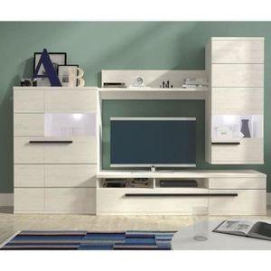 meuble tv mural achat vente meuble tv mural pas cher soldes d s le 10 janvier cdiscount. Black Bedroom Furniture Sets. Home Design Ideas