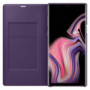 COQUE - BUMPER Samsung LED View Cover Note9 - Violet