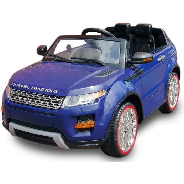 land rover evoque voiture electrique pour enfant 12v bleu. Black Bedroom Furniture Sets. Home Design Ideas