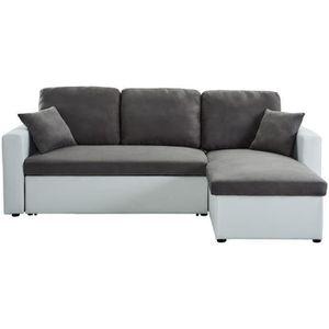 Canapé d\'angle gris - Achat / Vente Canapé d\'angle gris pas cher ...