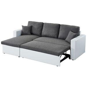 canape angle 200 cm achat vente canape angle 200 cm pas cher soldes d s le 10 janvier. Black Bedroom Furniture Sets. Home Design Ideas