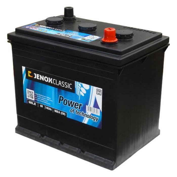 jenox m4 batterie 6v 140ah 900a achat vente batterie v hicule jenox m4 batterie 6v 140ah 900. Black Bedroom Furniture Sets. Home Design Ideas
