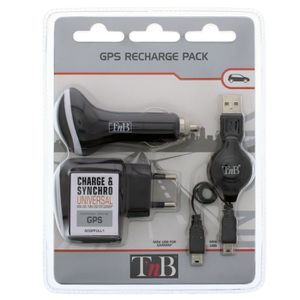 CHARGEUR GPS T'nB ACGPFULL1 Pack de recharge GPS