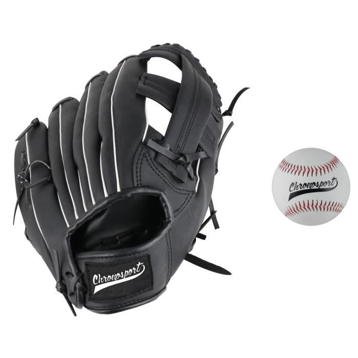 KIT - PACK BASEBALL CHRONOSPORT Set Gant + Balle de Baseball