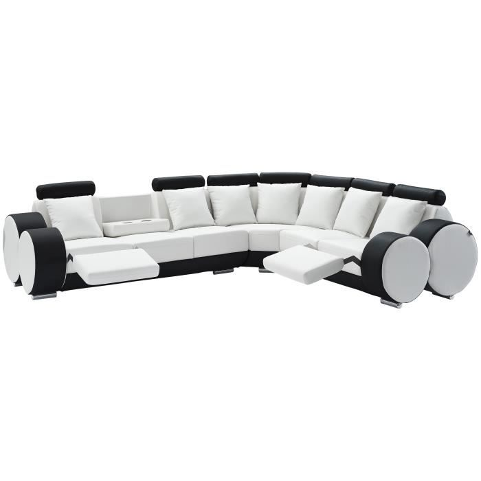 canap sofa divan charles canap de relaxation dangle droit fixe 8 - Canape Angle 8 Places