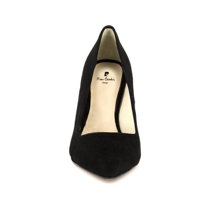 PIERRE CARDIN Escarpins en cuir talons 9 cm - Femme - Noir