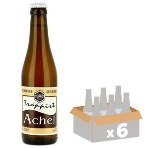 BIÈRE TRAPPIST ACHEL Bière Blonde - 33 cl x6 - 8 %