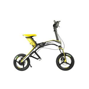 SCOOTER MOOVWAY Mini Scooter Electriques X1 Pliable Jaune